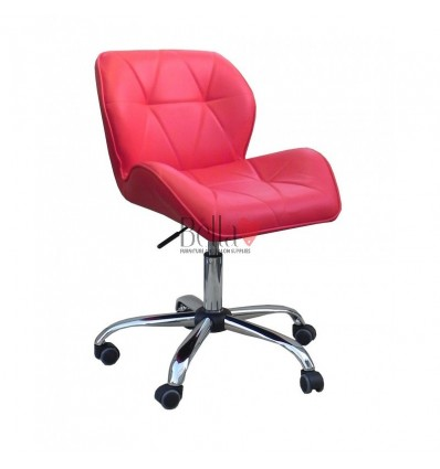 Elegant and stylish red chairs for beauty salons and nail salons Red BFHC111K