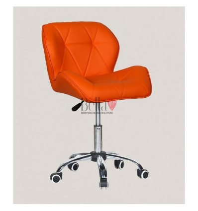 Elegant and stylish chairs for beauty salons and nail salons Orange BFHC111K