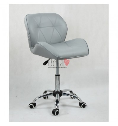 Elegant and stylish chairs for beauty salons and nail salons grey BFHC111K