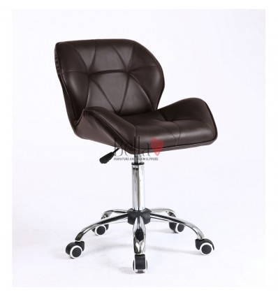 Elegant and stylish chocloate chairs for beauty salons and nail salons Chocolate BFHC111K