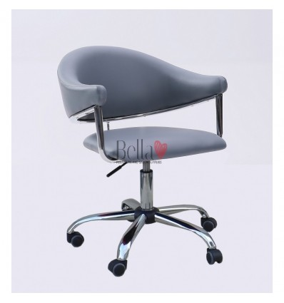 grey chairs for hairdressers. grey chair for beauty and nail salons BFHC8056K