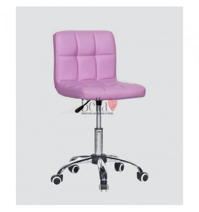 lavender chairs for hairdressers. lavender chair for beauty salons Ireland BFHC8052K