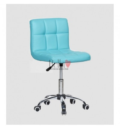 turquoise chairs for hairdressers. turquoise chair for beauty salons Ireland BFHC8052K