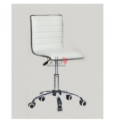 Best chairs for beautician. white chair for beauty salons Ireland BFHC1156K