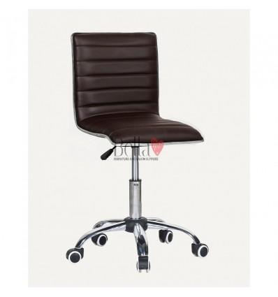 Best chairs for beautician. Brown chair for beauty salons Ireland BFHC1156K