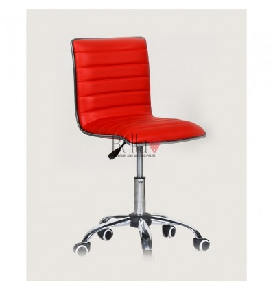 Best chairs for beautician. Red chair for beauty salons Ireland BFHC1156K