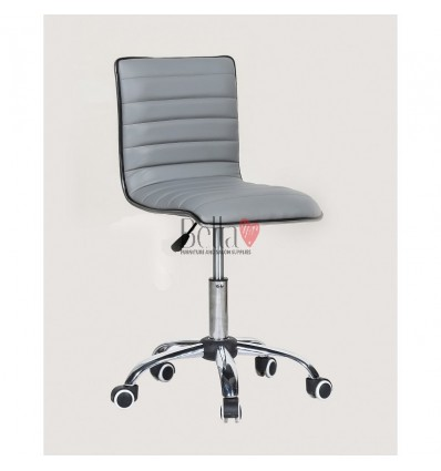 Best chairs for beautician. Grey chair for beauty salons Ireland BFHC1156K