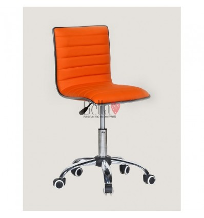 Best chairs for beautician. Orange chair for beauty salons Ireland BFHC1156K