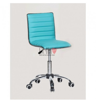 Best chairs for beautician. Turquoise chair for beauty salons Ireland BFHC1156K