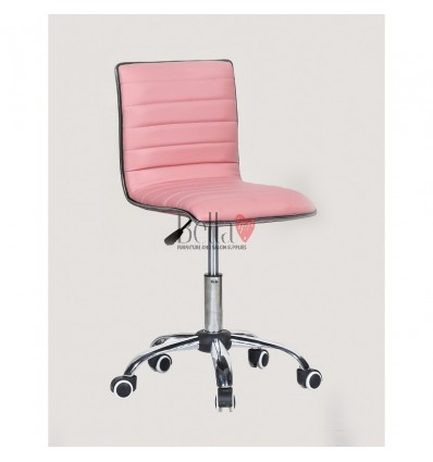 Best chairs for beautician. pink chair for beauty salons Ireland BFHC1156K