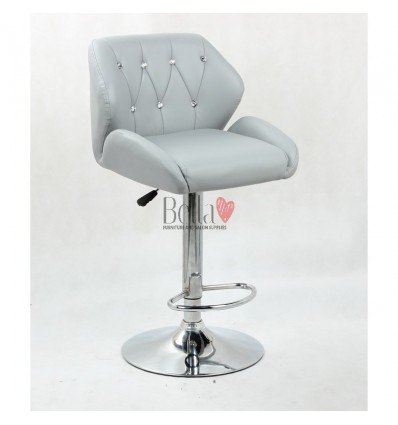 Grey Makeup and reception high chairs for sale. High makeup chairs Ireland. Black BFHC949W