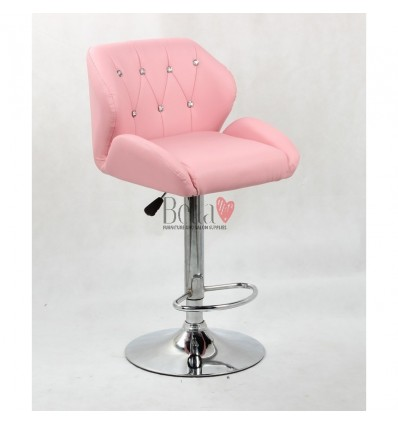 Pink Makeup and reception high chairs for sale. High makeup chairs Ireland. Pink BFHC949W