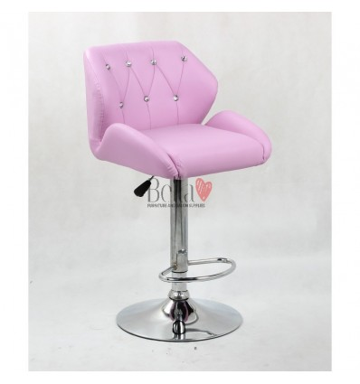 Lavender Makeup and reception high chairs for sale. High makeup chairs Ireland. Lavender BFHC949W
