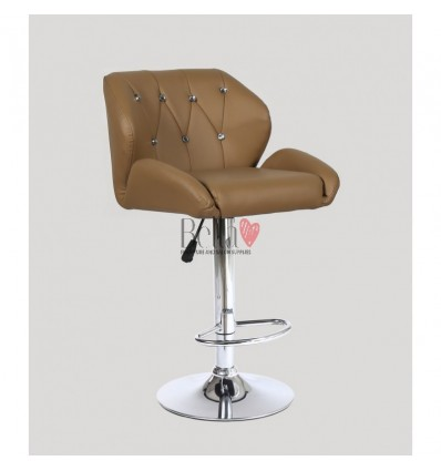 Caramel Makeup and reception high chairs for sale. High makeup chairs Ireland. Caramel BFHC949W
