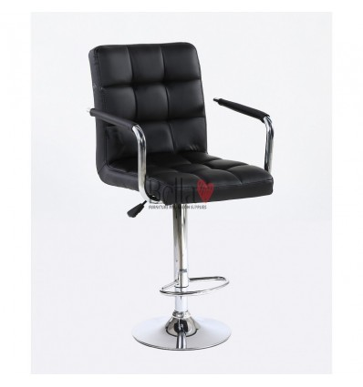 Elegant high makeup chairs Black BFHC1015WP