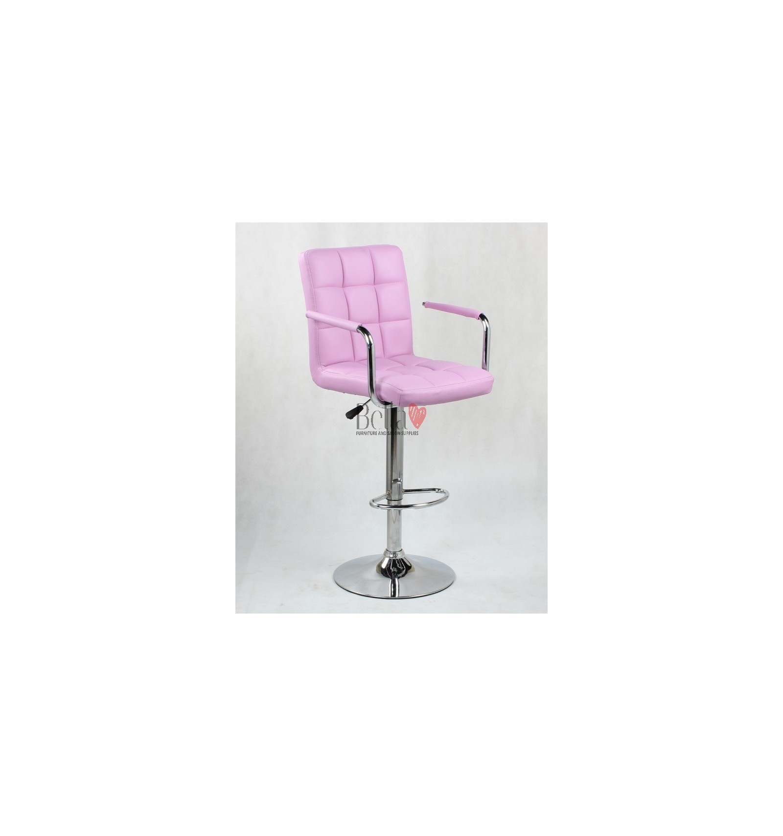 Elegant Pink High Makeup Chairs Pink BFHC1015WP