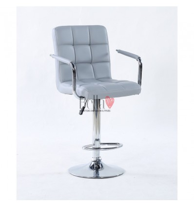 Elegant Grey high makeup chairs grey BFHC1015WP