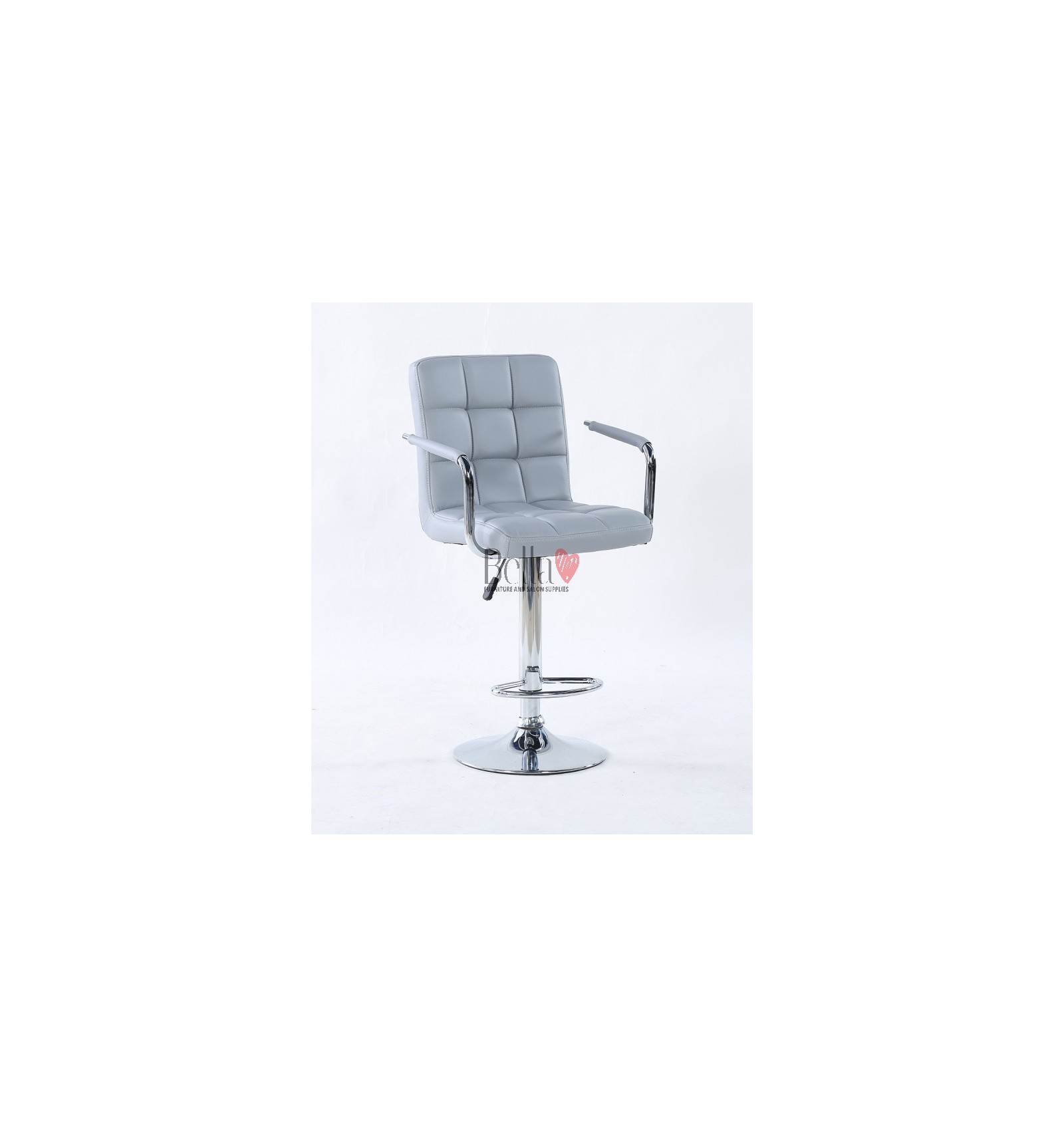 Grey Elegant Makeup And Reception High Chairs For Sale
