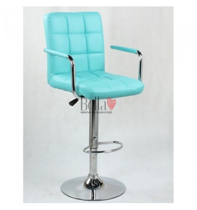 Elegant Turquoise high makeup chairs Blue BFHC1015WP