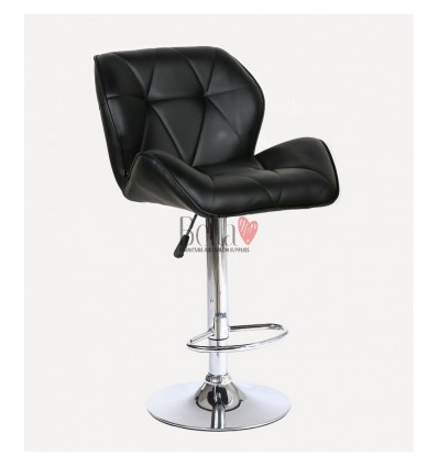 Black High Makeup chairs for makeup salon and beauty salon Black BFHC111W