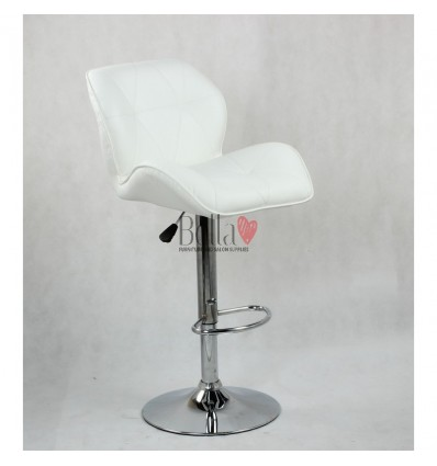 White High Makeup chairs for makeup salon and beauty salon white BFHC111W