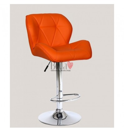 Orange High Makeup chairs for makeup salon and beauty salon orange BFHC111W