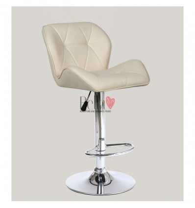 Cream High Makeup chairs for makeup salon and beauty salon cream BFHC111W