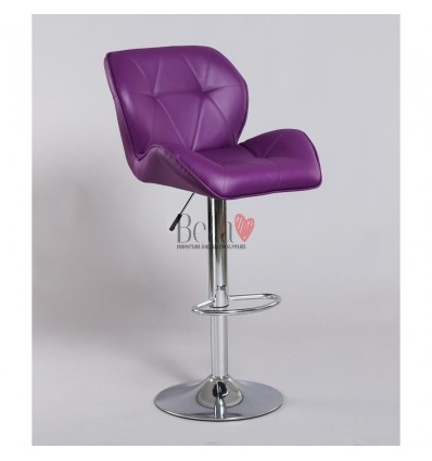Purple High Makeup chairs for makeup salon and beauty salon purple BFHC111W
