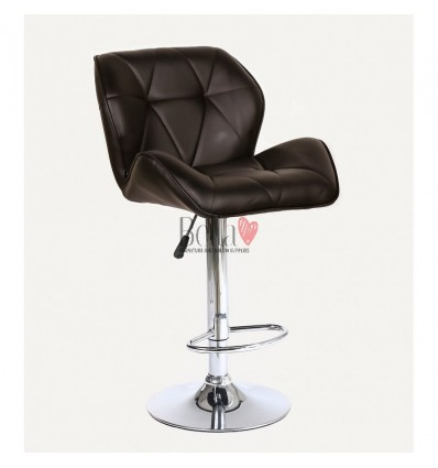 Chocolate High Makeup chairs for makeup salon and beauty salon chocolate BFHC111W