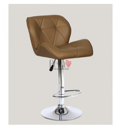 Caramel High Makeup chairs for makeup salon and beauty salon brown BFHC111W