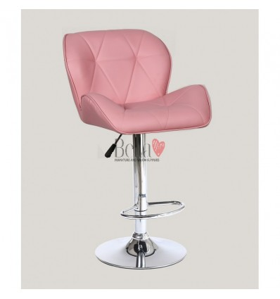 Pink High Makeup chairs for makeup salon and beauty salon pink BFHC111W