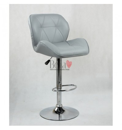 Grey High Makeup chairs for makeup salon and beauty salon grey BFHC111W