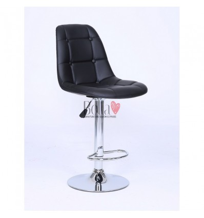 Black Modern High Makeup chairs for makeup salon and beauty salon. BFHC1801W