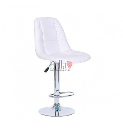 White Modern High Makeup chairs for makeup salon and beauty salon. BFHC1801W