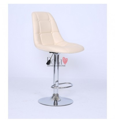Cream Modern High Makeup chairs for makeup salon and beauty salon. cream BFHC1801W
