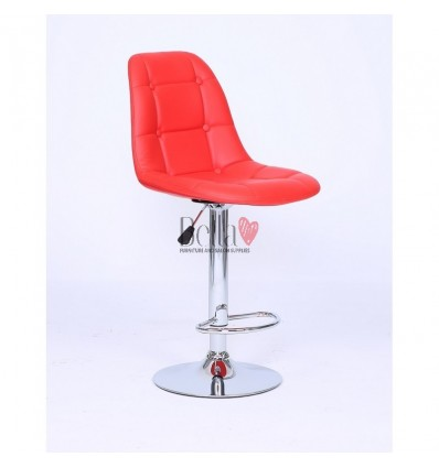 Red Modern High Makeup chairs for makeup salon and beauty salon. red chair BFHC1801W