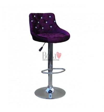 High Makeup chairs for makeup salon and beauty salon velour BFHC931
