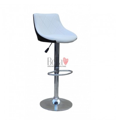 White-Black High Makeup chairs for makeup salon and beauty salon BFHC931