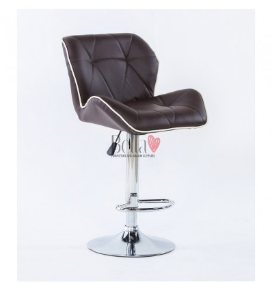 Bella Furniture brown High Chairs for Salons in Ireland BFHC1062