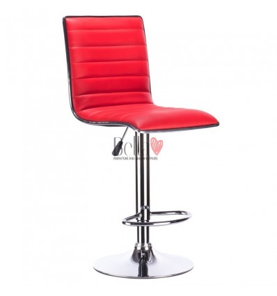 Red High Makeup chairs for makeup salon and beauty salon. BFHC1156