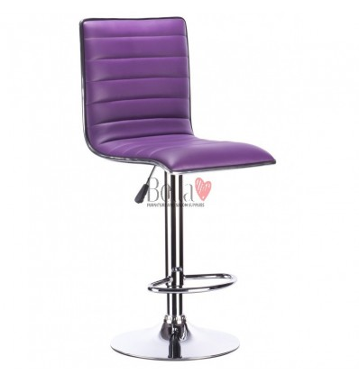 Purple High Makeup chairs for makeup salon and beauty salon. BFHC1156