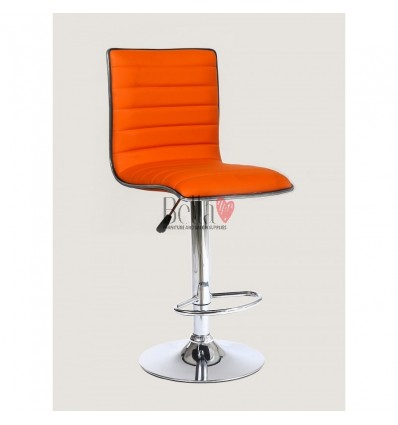 Orange High Makeup chairs for makeup salon and beauty salon. BFHC1156