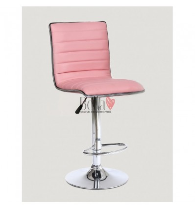 Pink High Makeup chairs for makeup salon and beauty salon. BFHC1156