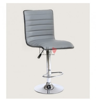 Grey High Makeup chairs for makeup salon and beauty salon. BFHC1156