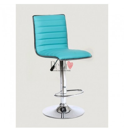 Turquoise High Makeup chairs for makeup salon and beauty salon. BFHC1156