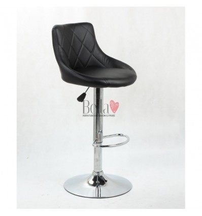 Black High Makeup chairs for makeup salon and beauty salon. BFHC1054