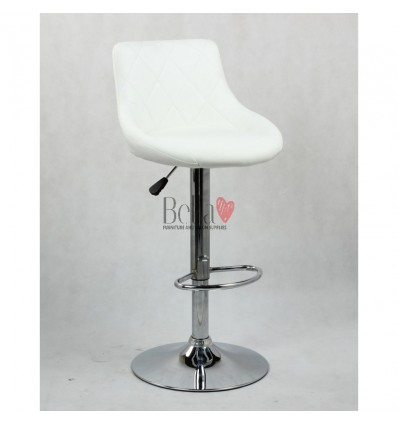 White High Makeup chairs for makeup salon and beauty salon. BFHC1054