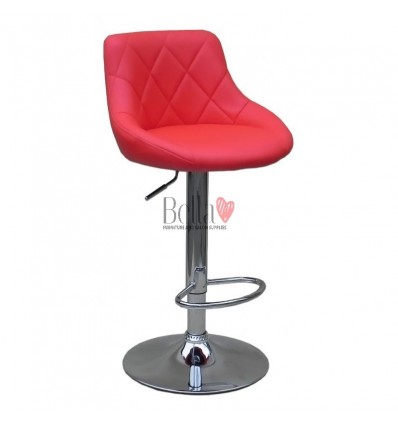 Red High Makeup chairs for makeup salon and beauty salon. BFHC1054