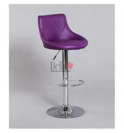purple High Makeup chairs for makeup salon and beauty salon. BFHC1054