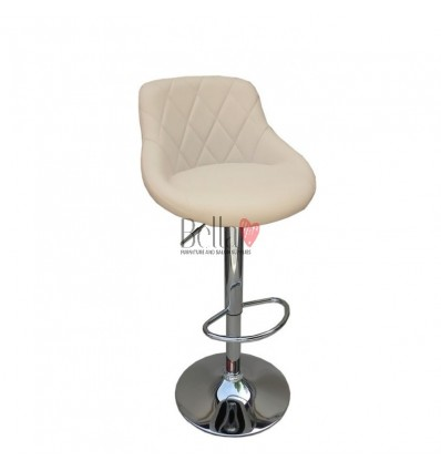 cream High Makeup chairs for makeup salon and beauty salon. BFHC1054